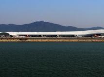 T3楼----深圳新机场航站楼远眺拍摄