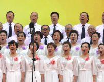 海南省民生养老互助协会迎新春群众演出集锦15