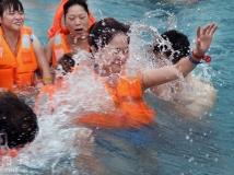 莲花温泉--冲浪