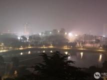 新型翠湖公园夜景三