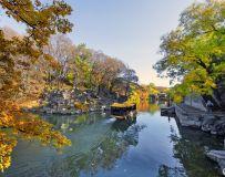 颐和园昆明湖通往苏州街水路