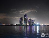 夜色三亚湾