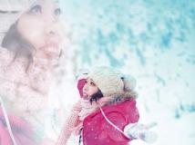 雪景人像学拍