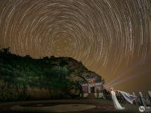 夜色七峰山