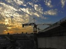 南水北调中线工程建设全国摄影大赛 【渠首晚霞】组照