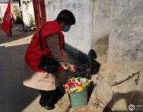 社区志愿者协会开展百名志愿者文明乡村行走进石桥镇 12