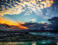 马六甲海峡晨晖