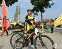 体彩。环中原2017自行车公开赛在镇平举办