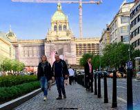 东欧游-布拉格-瓦茨拉夫广场
