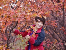 红叶媲美----自拍