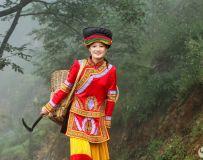古路村糸列——彝族姑娘阿依曲金
