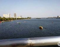 白河游览区采风——宽阔的水域