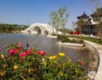 南阳月季园西园风景1