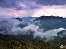 茶山湖景色