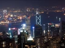 深圳湾大桥的那头---香港