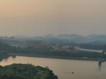 黄昏的松山湖