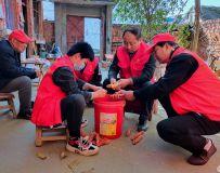 社区志愿者协会开展百名志愿者文明乡村行走进石桥镇 3