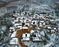 雪落吴垭石头村