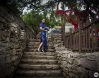 南召石头村印象之——美人图