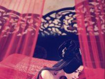 古典美女别致的肌肤与凤眼