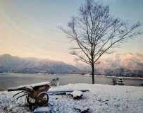 雅女湖的冬韵(手机摄影)
