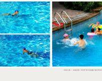 《重庆之夏——泳池浪花》