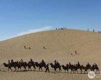 【骑着骆驼去逛八道桥,与沙漠来个亲密接触】