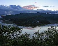 石门湖晚霞