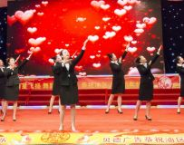 手语舞(电视台录制时拍摄片13)