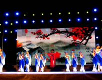 唱响白河群众文化演出节目《梨花颂》