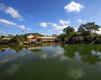奇湖山庄美景