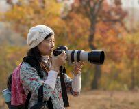 女摄影师东娜
