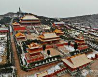 雪后香山寺