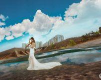 '美丽的丹江水岸'