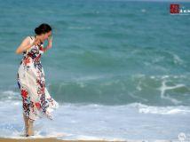 (人像)海边戏水
