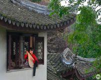 古建筑环境人像(10)