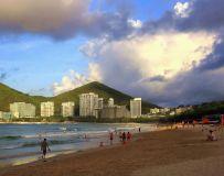 夕阳映海滩3