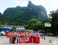 镇平部赴广西桂林参加刘三姐杯广场舞大赛