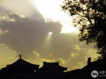 光影中国丹江口部走进西安大雁塔