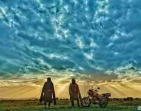 《高原之晨》(手机拍摄)
