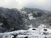 四川广安本世纪第一场雪