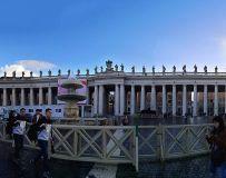 世界第一小国——梵蒂冈广场一角