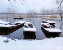 静静的渔船