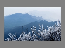 华蓥山的冬