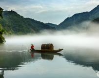 慢雾小东江