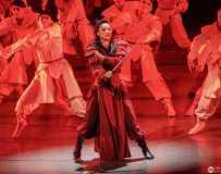 民族舞剧<花木兰>。