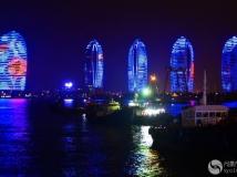 三亚风凰岛夜景