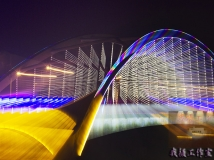 新春夜景,绚丽多姿,创意摄影,非后期合成