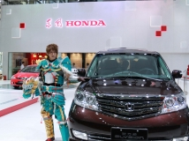 本田男模---拍摄于2014深港澳车展3P