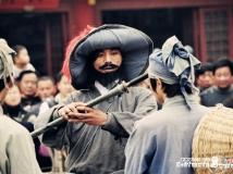 影视故事桥段表演现场抓拍—杨志卖刀
